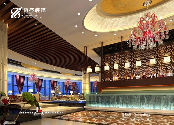 某酒店餐饮、客房空间设计方案