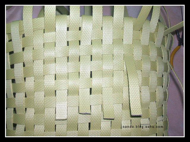 包装带编菜篮子图解