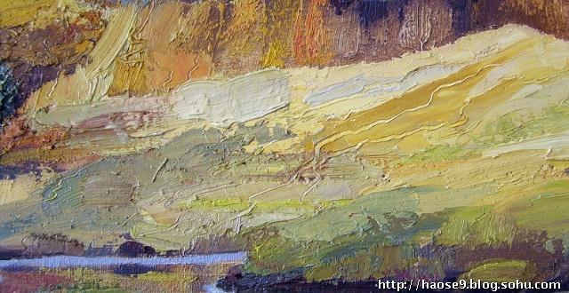 中国的油画风景在注入中国人的哲思并由此创造出能震慑人心的作品时便