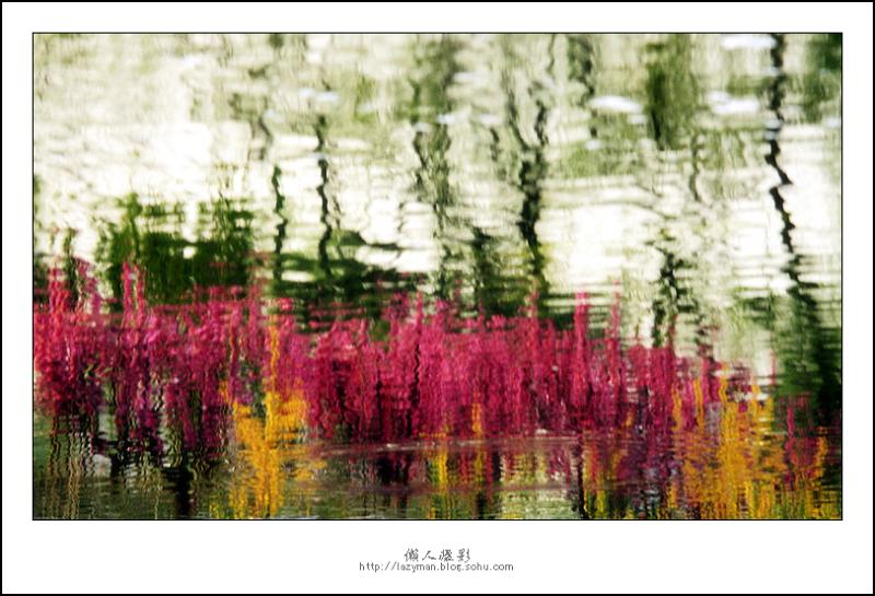 春天的水彩画
