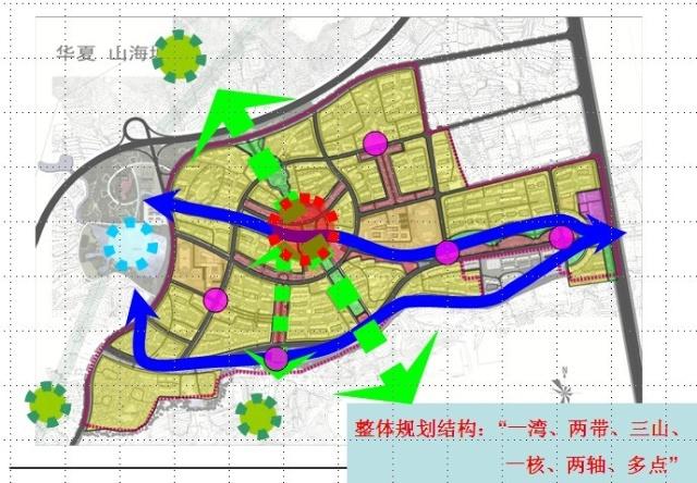 文登市区街道地图