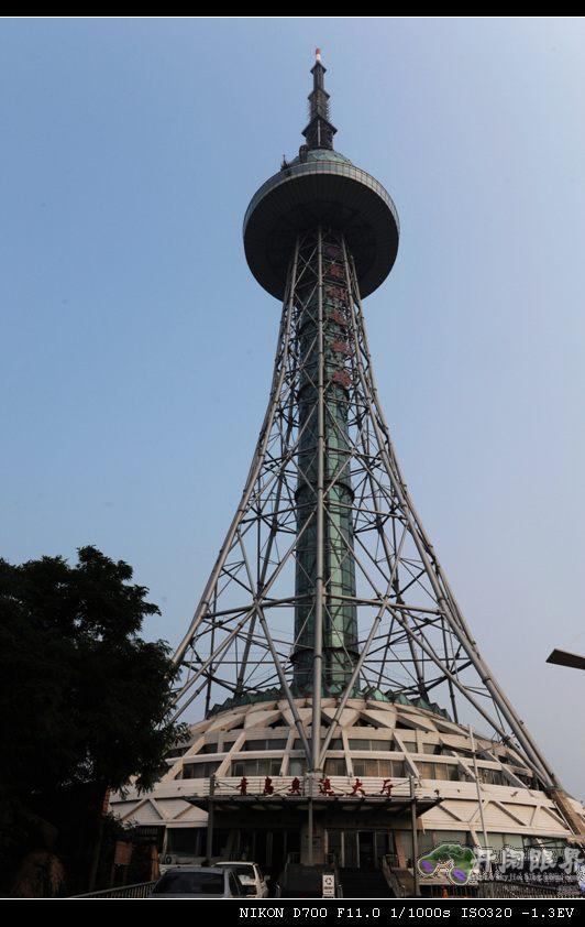 青岛电视塔号称中国第一钢塔