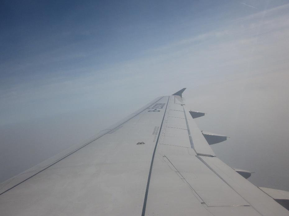 【今日话题-随拍】我在飞机上看到的壮观景象
