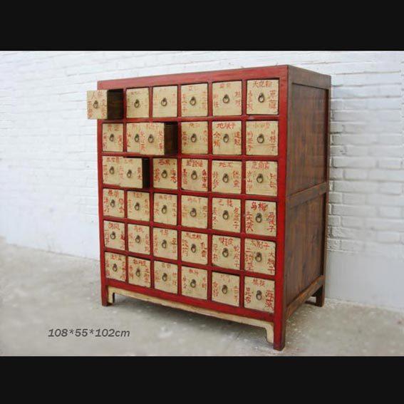 半墙茶叶柜设计图