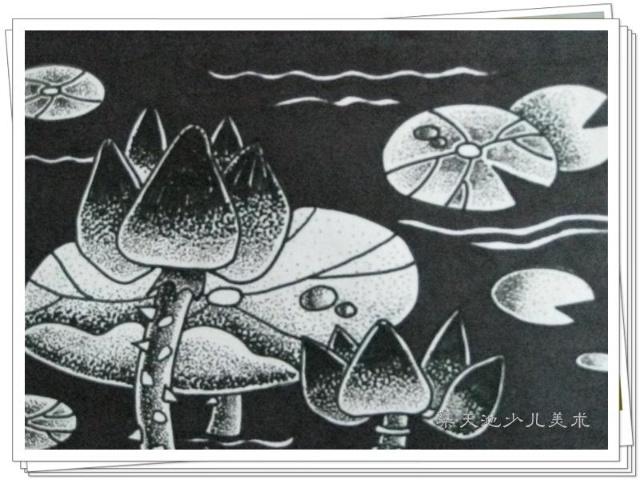 儿童创意黑白画-染天池少儿美术书法学校-搜狐博客