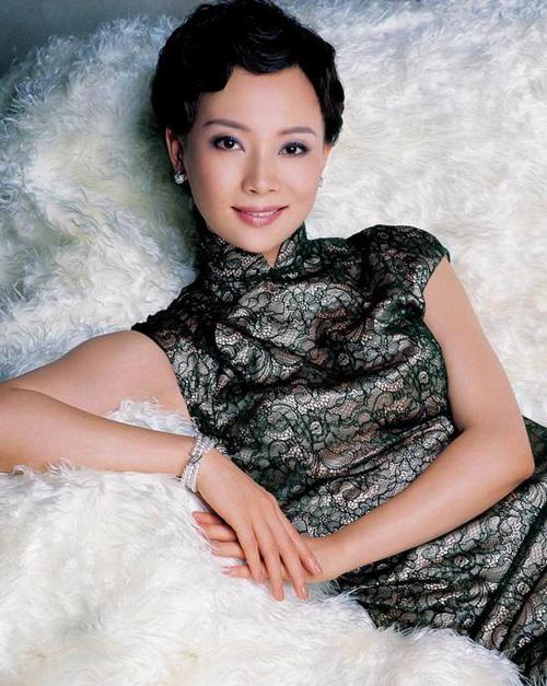 旗袍12美女的古典风情