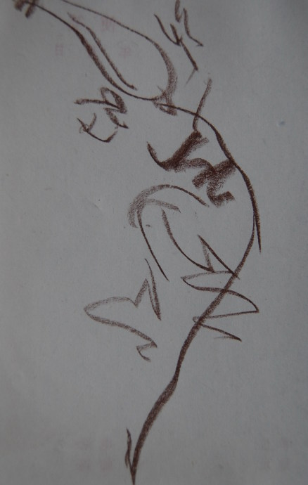 舞蹈手绘课件背景图片