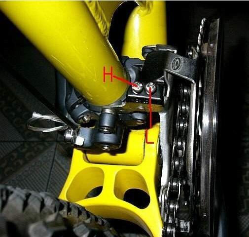 山地自行车的变速器如何调节