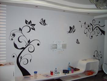 手绘墙画的颜色搭配