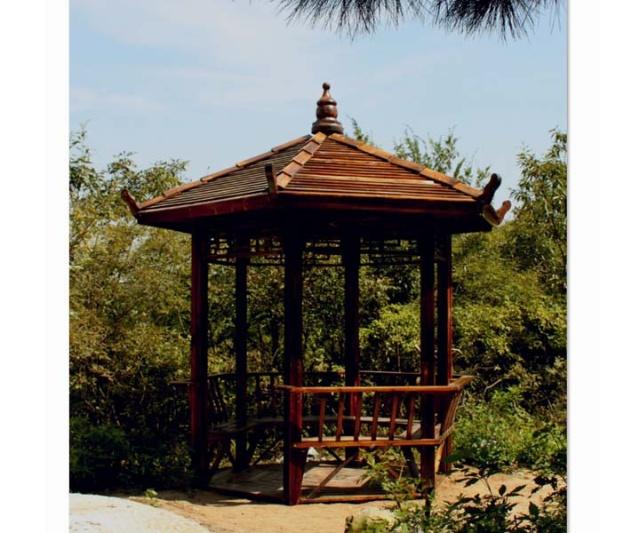 石柱山森林公园(竹亭)