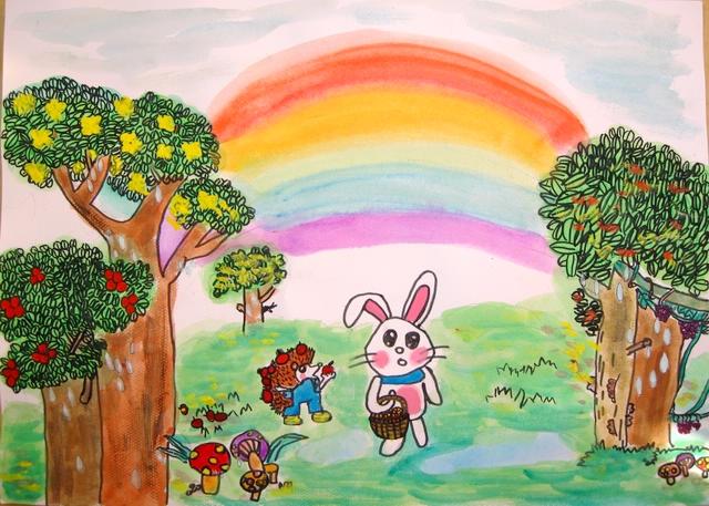 小学一年级绘画作品内容|小学一年级绘画作品图片