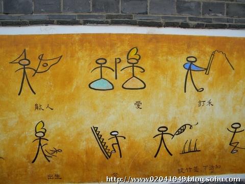 云南行之十:纳西族东巴象形文字
