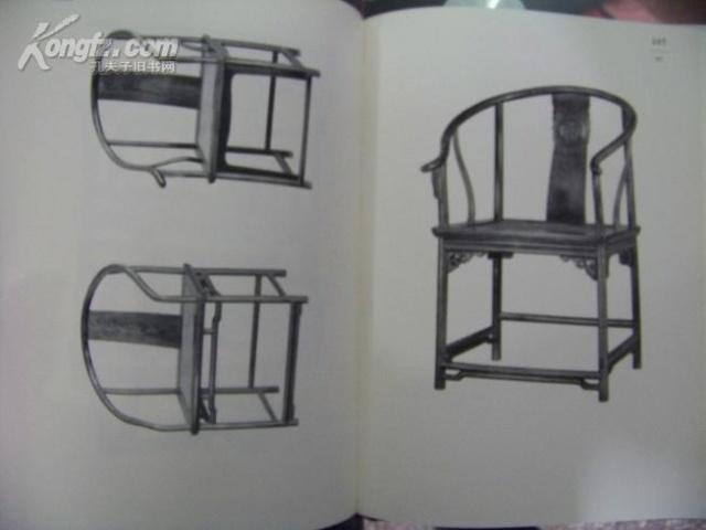 一点透视单个家具手绘图