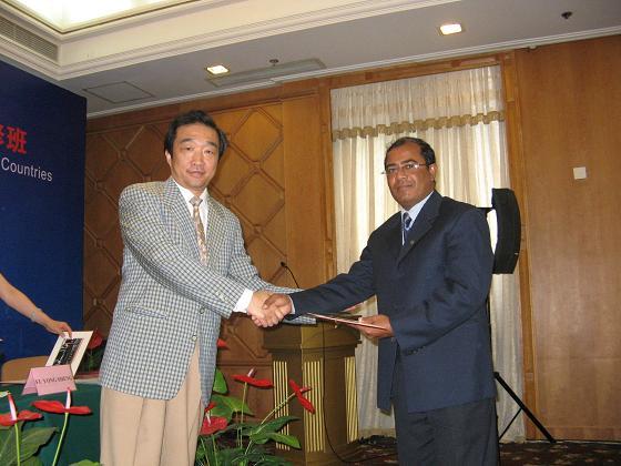 中国对发展中国家援助培训班 - 海外华人圈 - 同