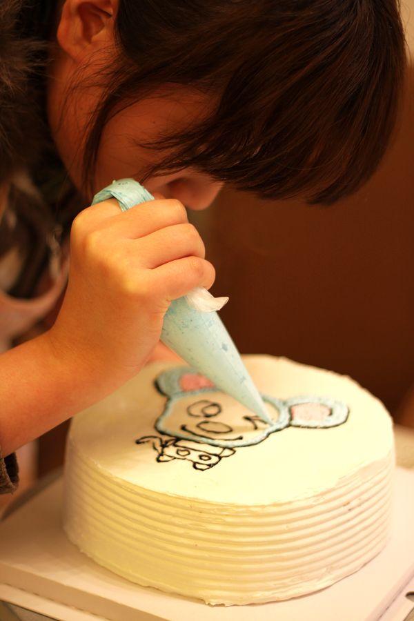 为爱做蛋糕-----小老鼠蛋糕