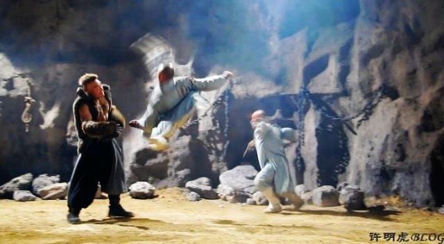 """功夫剧《少林寺传奇3--大漠英豪》之""""铁甲威龙""""-许明图片图片"""