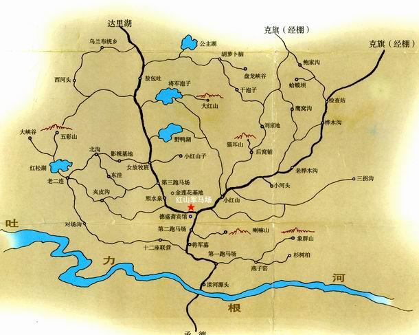 景区地图: