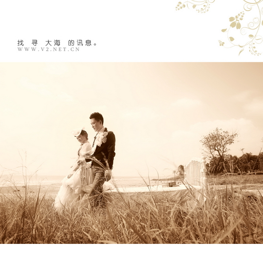 北京v2摄影_V2 视觉外景婚纱摄影作品之——情醉暖阳-V2视觉外景摄影机构 ...