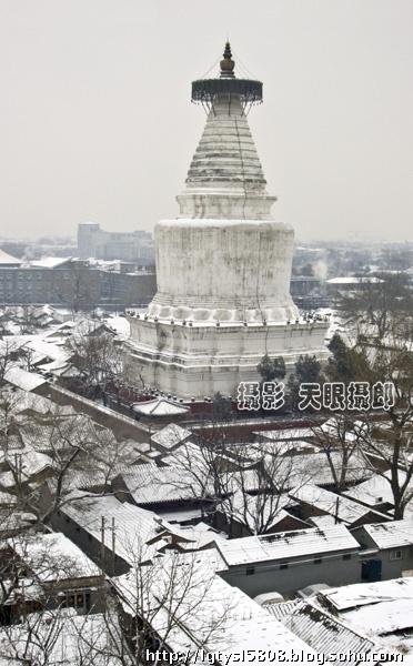 北京胡同雪景(白塔寺)-专业摄影师天眼摄郎