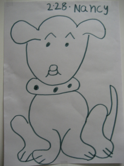快笔画-小狗狗