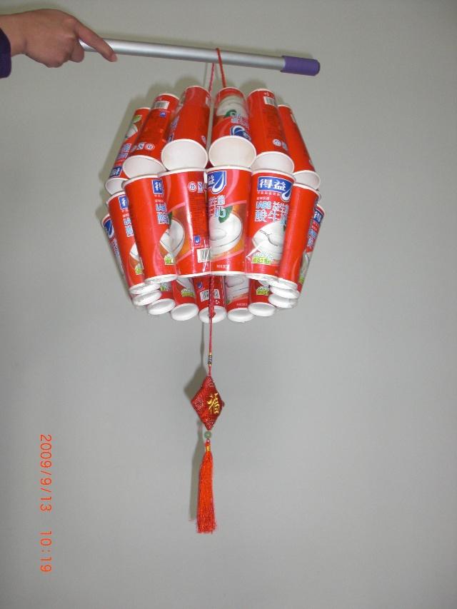 幼儿园中秋节手工制作灯笼