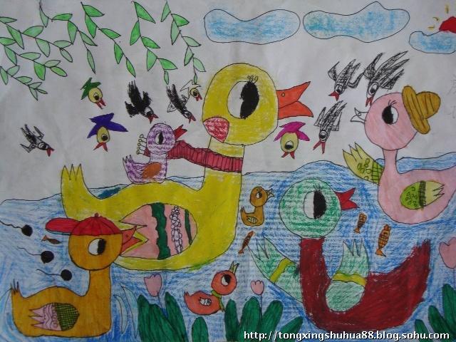 简笔画,儿童画等,向老师和同学们展示了学前教育专业
