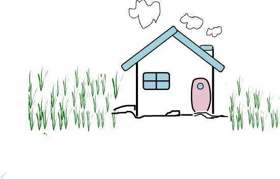 长几笔画-儿时我们都画过我的家,三角形的屋顶,长方形的围墙,田字形的窗户