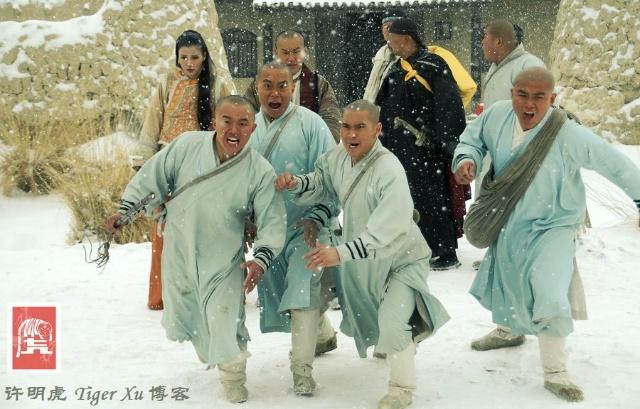 电视剧《少林寺传奇》第三部,顺利杀青!图片
