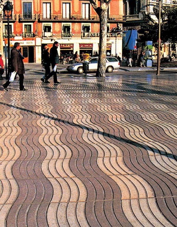 商业街地面铺装设计