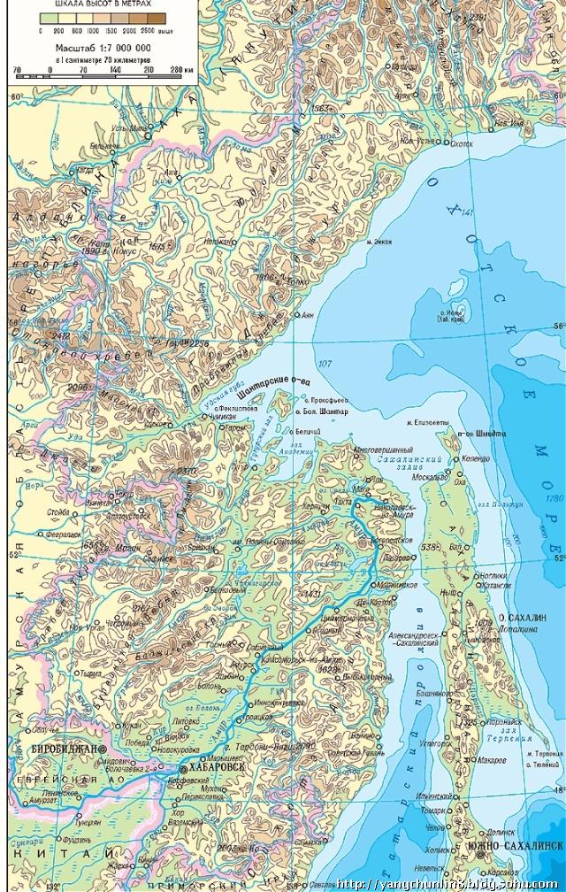 俄罗斯远东滨海边疆区地图