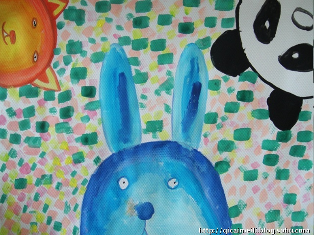 水粉画练习——小动物