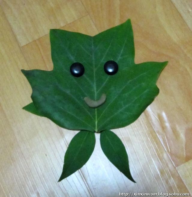 儿童手工制作苹果树图片