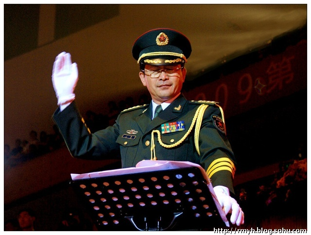 中国人民解放军军乐团指挥 于海