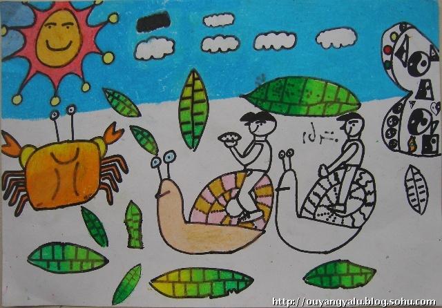 儿童画 640_446