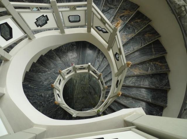 艺术楼梯手绘图