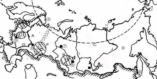 课前填图绘图了解亚洲各分区地形亚洲地形填图 中国 ...