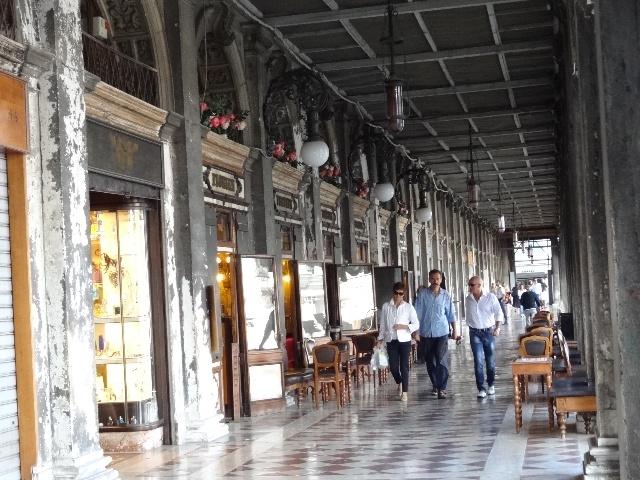 在威尼斯逛玻璃器皿店和皮制品商店 阴山一剑翁的blog 我的