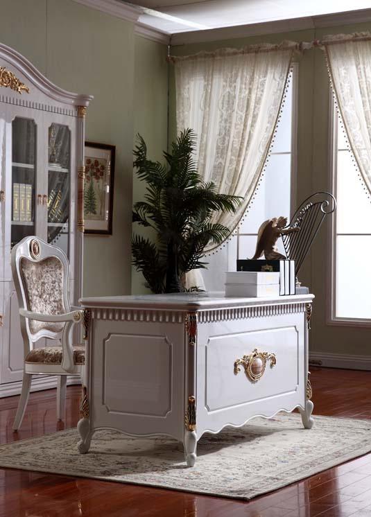 书房装修需要静_平安家具