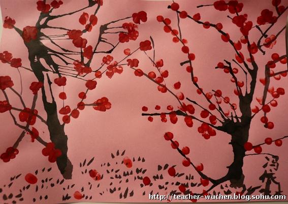 30儿童画初级--油画棒与水彩-大森林