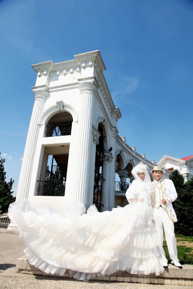 北京穆斯林婚纱摄影 回族婚纱摄影