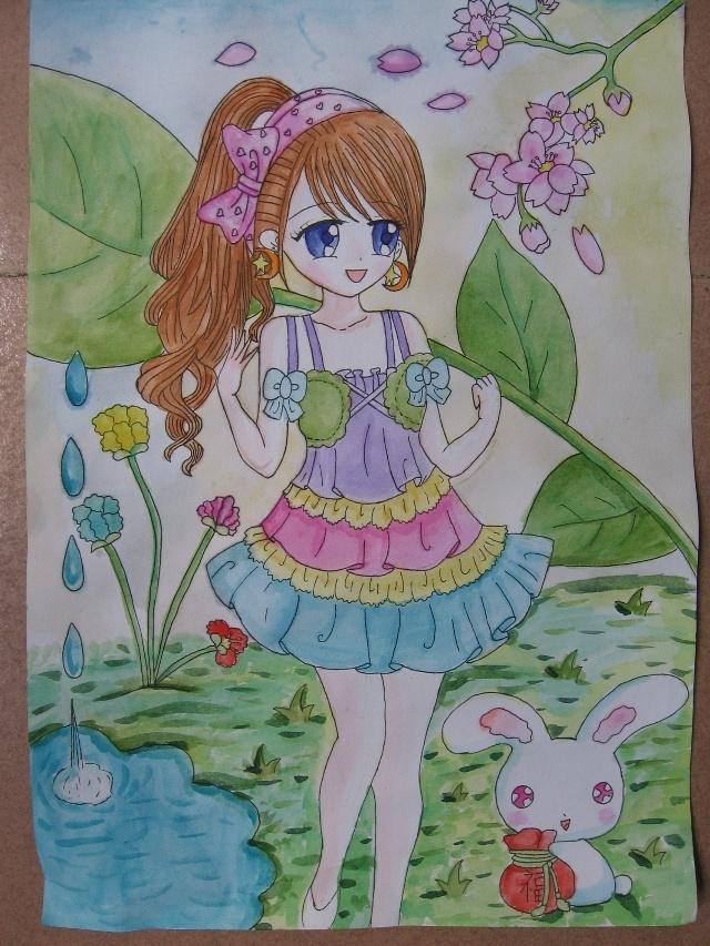 辛寨小学绘画作品—我的理想