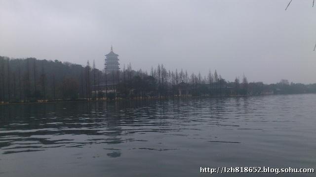 印象 西湖雨