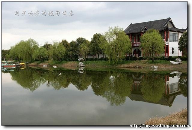 江苏如皋长寿村风景区春季美景特摄