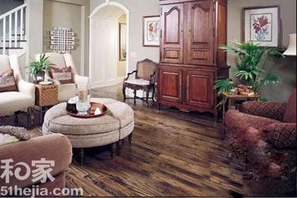 木地板颜色选择 演绎4种美式装修风格【西安至华装饰