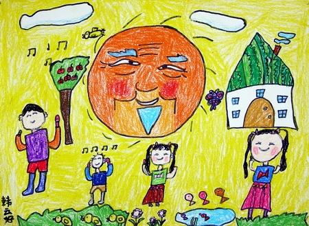 儿童画 450_329图片