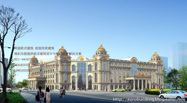 就是欧式现代建筑发展到中国的开始