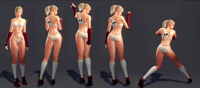 衣不蔽体 细数让男性玩家情绪暴涨的成人网游 阳光
