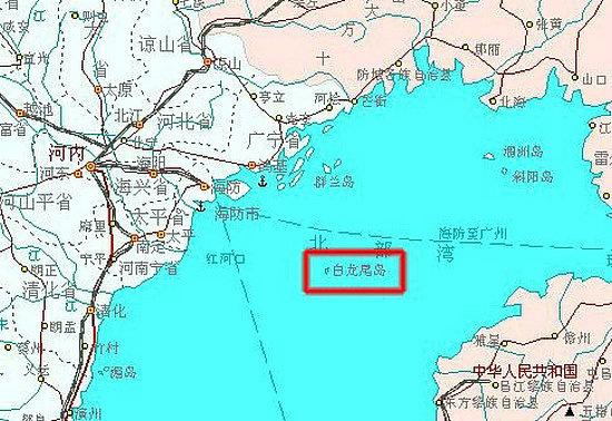 也称为白龙尾岛或夜莺岛