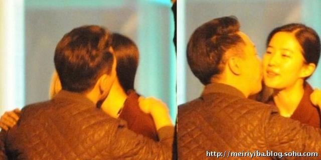刘亦菲和她干爹 刘亦菲 刘亦菲和他干爹