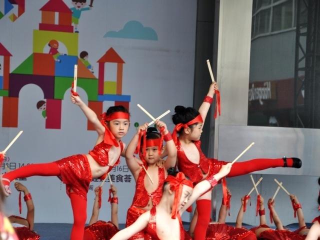 儿童节表演彩排